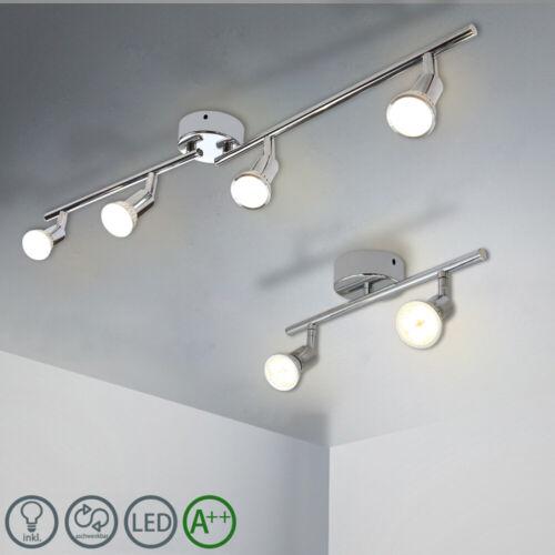 GU10 LED Deckenleuchte Deckenstrahler Flammig Strahler Energiesparlampen