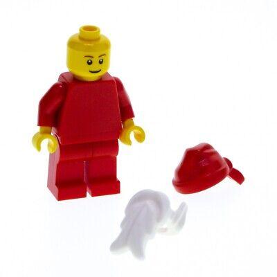NEW Lego Red CHRISTMAS GIRL ELF Female Santa Helper Minifig w//Green Short Legs
