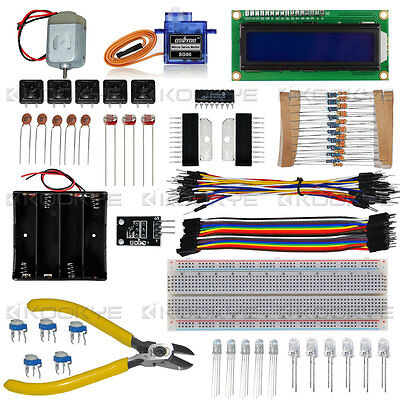 Basic Starter Electronic Learning Kit for Raspberry Pi 2 3  DIY Projects](raspberry pi electronics starter kit)