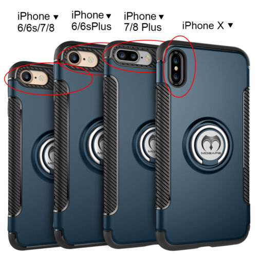 For iPhone XS Max XR X 6 6S 7 8 Plus Shockproof Hybrid Rugged Slim Case Cover US