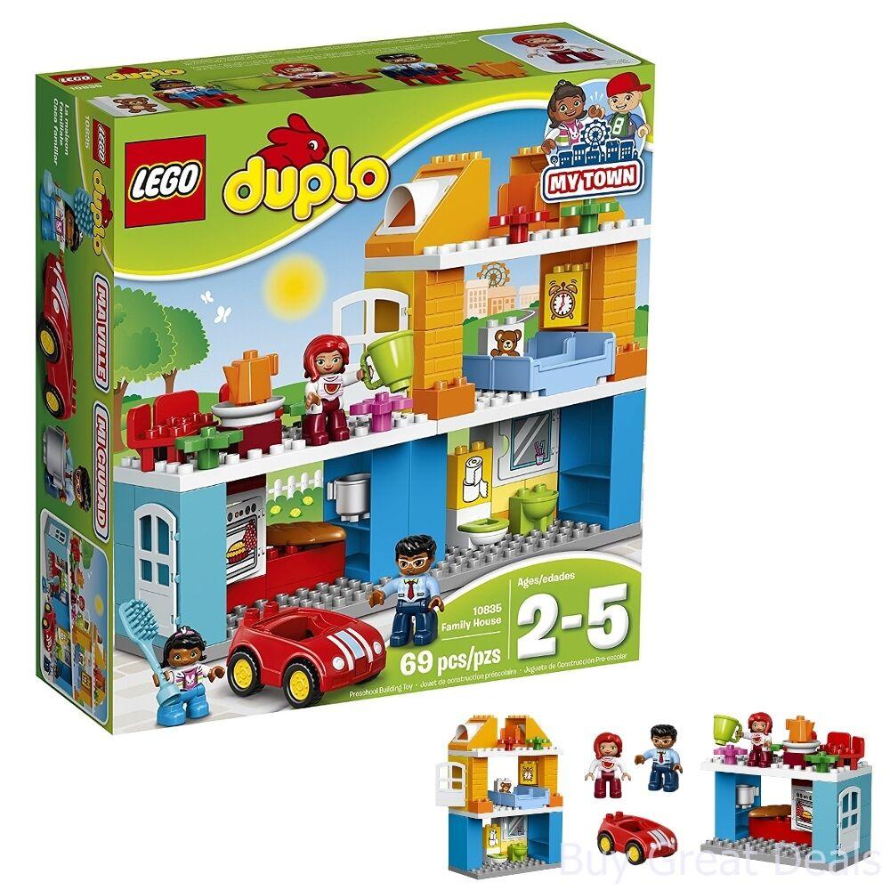 Lego Duplo Town Family House Building Kit, 10835 Lego Set +