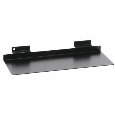 Black Slatwall Shoe Display 11w