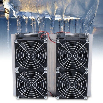 240w Cooler Four Fan Thermoelectric Peltier Refrigeration Cooling System Kits