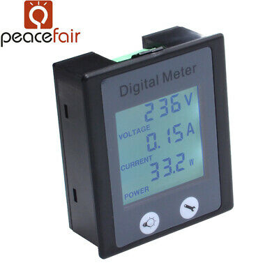 Ac Digital Multifunction Power Monitor Meter Currentvoltage Power Meter 0-100a