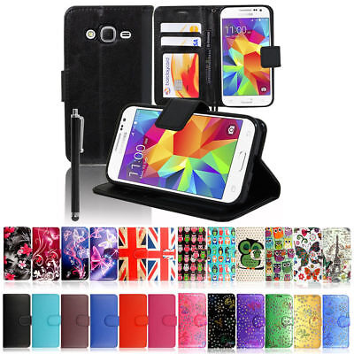 Samsung Galaxy Ace 4 G357  Leather Magnetic Flip Case Cover  (Ace Magnetics)