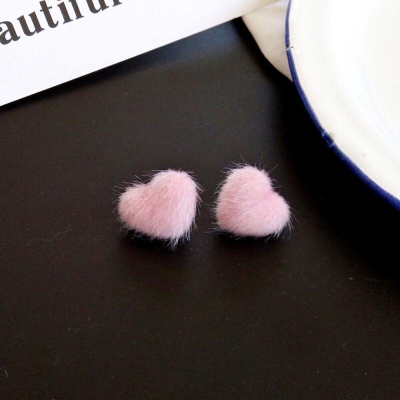 heart-shaped Simple Temperament Jewelry Ear Clips Stud Earri