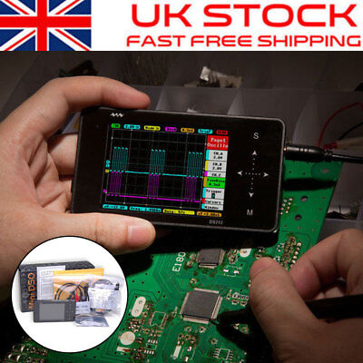 Original Mini ARM Nano DSO202 Handheld Portable Digital USB Oscilloscope Tool UK