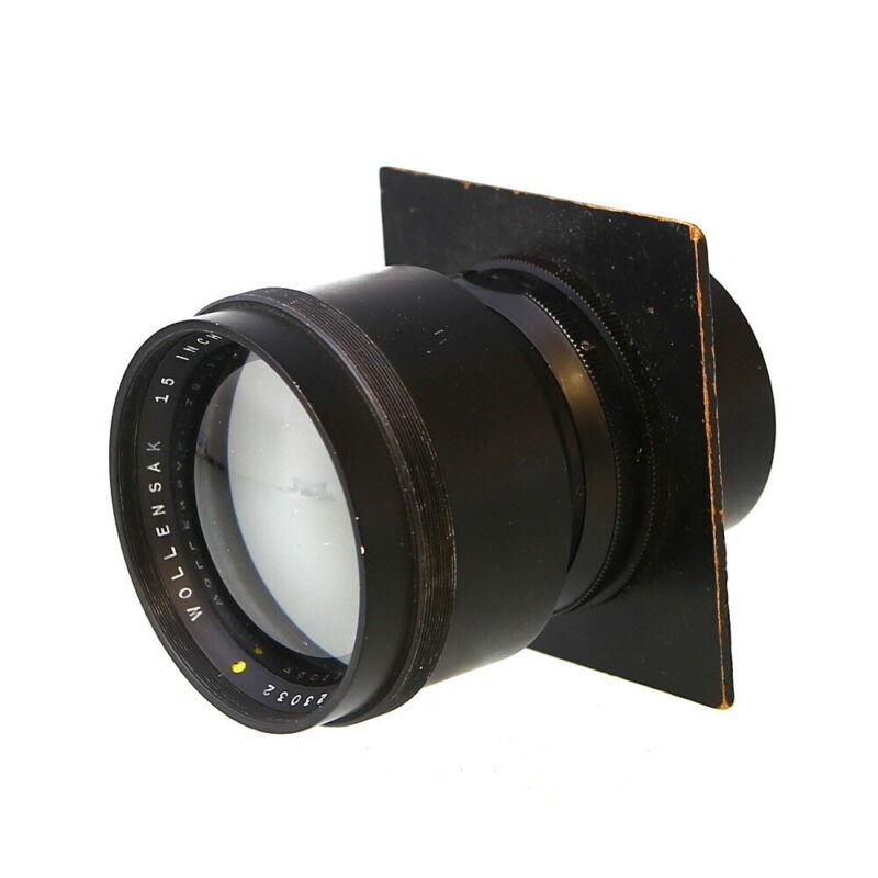 "Vintage Wollensak 15"" f/5.6 Telephoto Large Format Lens - BG"