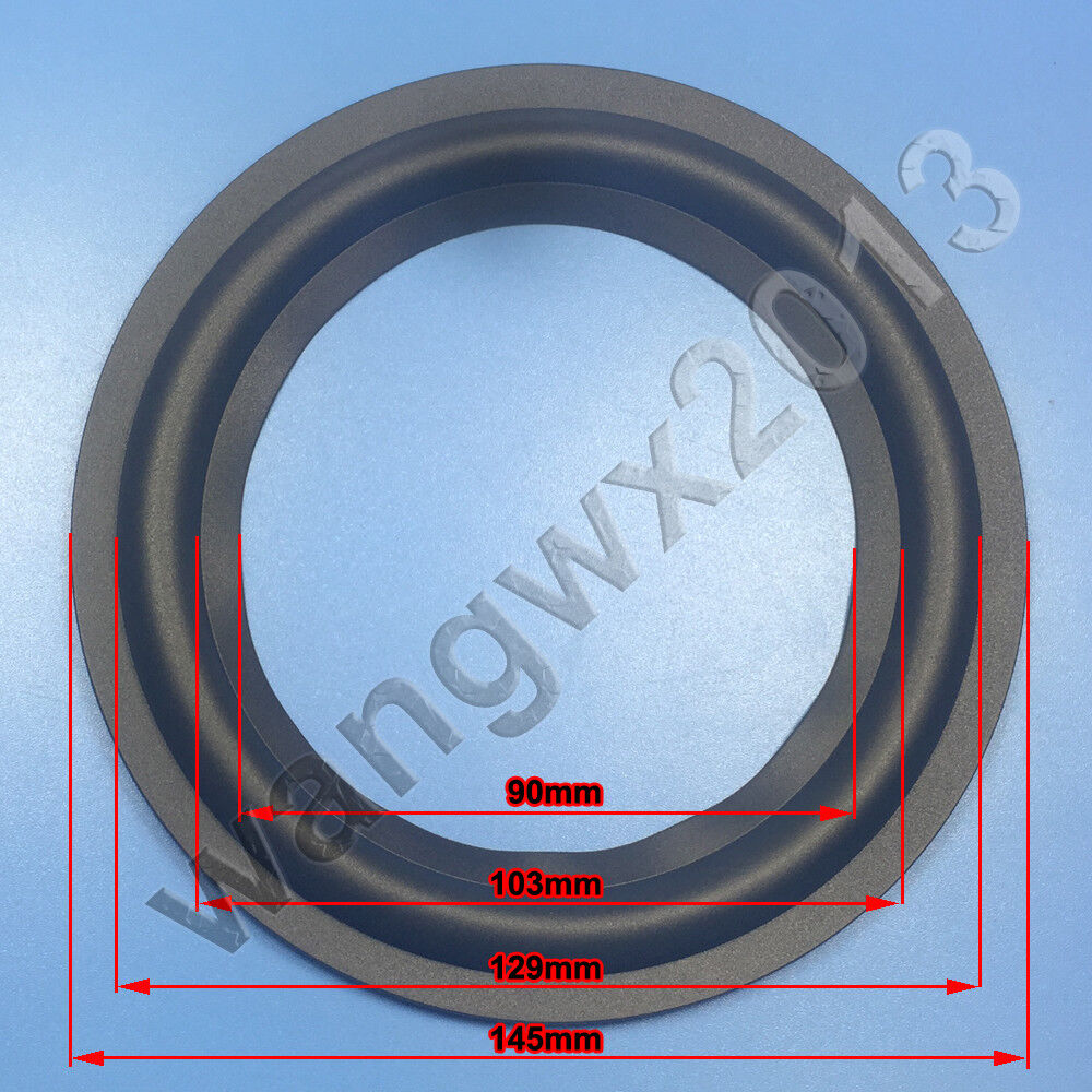 """High Quality 4/"""" 4 inch 90mm Speaker Surround Repair Rubber Edge Replacement ☆"""