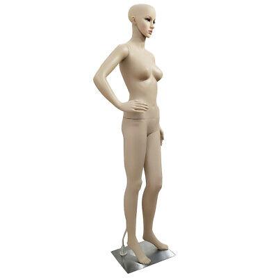 Female Full Body Akimbo Bent Model Mannequin Skin Color Usa Shipping