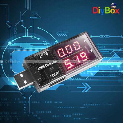 USB Charger Doctor Current Voltage Detector Battery Ammeter Tester Voltmeter