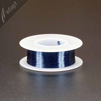 Magnet Wire Enameled Copper Blue 38 Awg Gauge 155c 18 Lb 2413 Ft