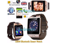 Bluetooth Smart Watch For Android HTC Samsung iPhone iOS + Camera SIM Slot (Unlocked)