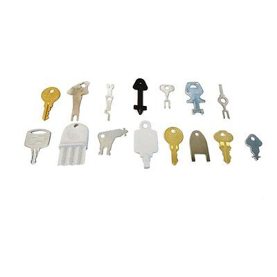15 Popular Keys - for Toilet Paper ,Paper Towel Dispensers and Electrical Keys