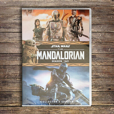 The Mandalorian : Complete Season 1-2 DVD Set Brand New Fast Shipping US Seller
