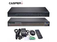 32CH CCTV DVR Digital Video Recorder P2P Support TVI CVI AHD Analogue IP Cameras