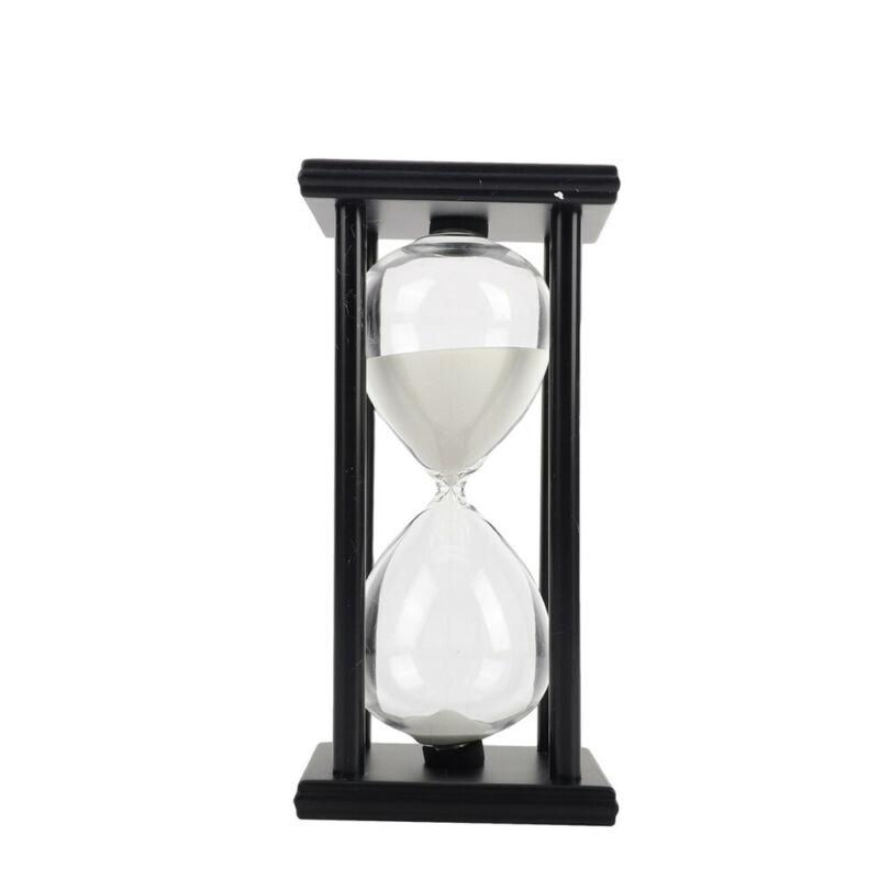 Wooden Sandglass Sand Hourglass 60 Countdown Timer Clock Gift Home Decor