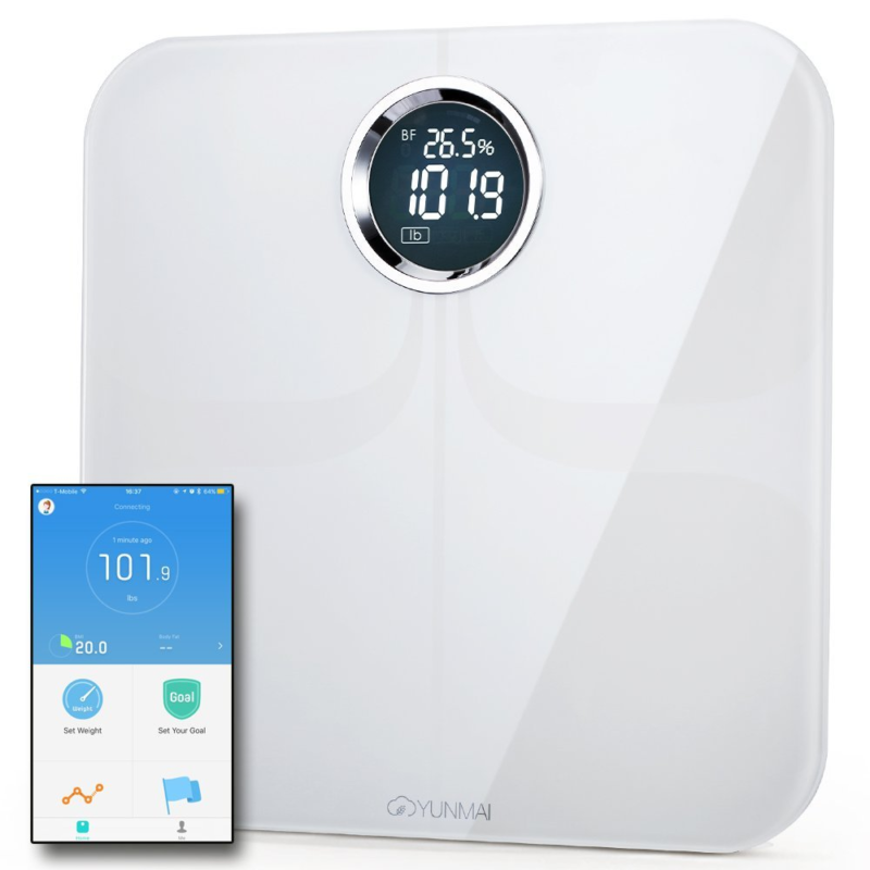 Yunmai Premium Smart Scale Body Fat with Fitness APP & Compo