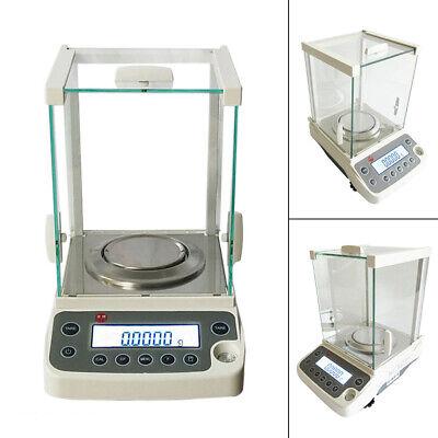 120g 0.0001g Lab Analytical Balance Precision Electronic Digital Scale 110v