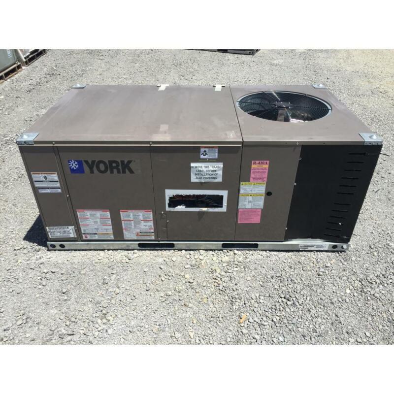 YORK ZE048H12A2A1ABA1A1 4 TON CONVERTIBLE ROOFTOP GAS/ELECTRIC AC, 14 SEER 81%