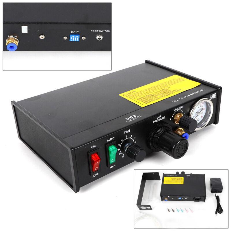 Solder Paste Liquid Dispensing Machine Semi-Auto Adhesive Dispenser Controller