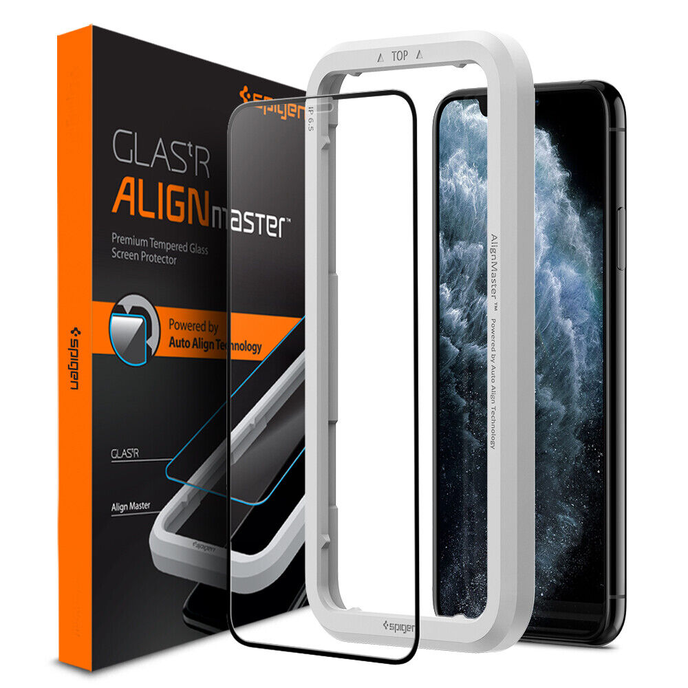 iPhone 11, 11 Pro, 11 Pro Max Glass Screen Protector Spigen