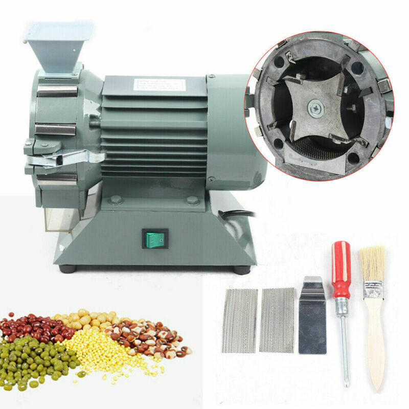 Micro Plant Grinding Machine Mill Plant Tool Grinder 30-120 mesh Soil Pulverizer