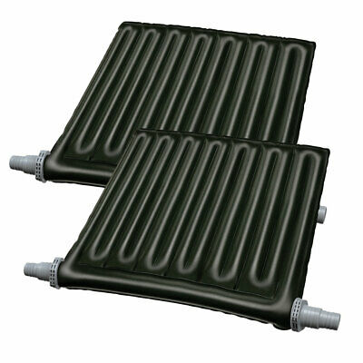 2 Pack GAME 4527 SolarPro XB2 Aboveground Swimming Pool Solar Heater