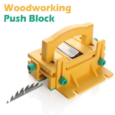 3D Safety Woodworking Push Block for Table Saws Tables Router Band Saws Jointers