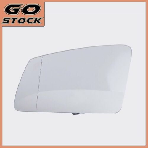 Left Door Side Heated Wing Mirror Glass Fit Mercedes-Benz S//C//E-Class W212 W204