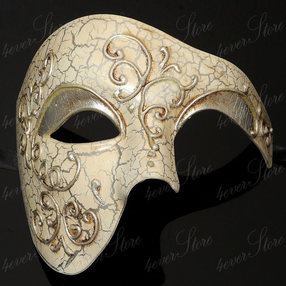 Phantom of the Opera Masquerade Mask - Venetian Mardi Gras ...