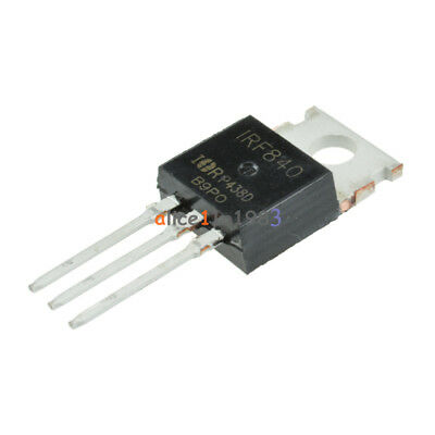 10pcs Irf840n Irf840 N-channel 8a 500v Mosfet To-220 Ir Transistor Best