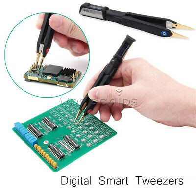 Mini Digital Smart Tweezers Lcr Meter Signal Generator Debugging Reparing Dt71