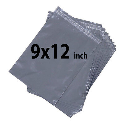 9x12 300X Grey Mailing Bags Strong Poly Postal Postage Post Mail Self Seal UKDC