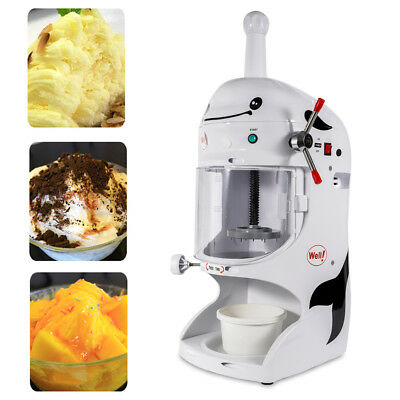Commercial Snow Conesnow Machineshaved Ice Machine Ice Crusher350w Hot