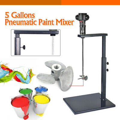 Pneumatic Paint Mixer Air Agitator Blender Stirrer Ink Mixing Machine 5 Gallons