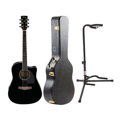 Ibanez PF15ECE PF Dreadnought Acoustic-Electric Cutaway Guitar with Case -