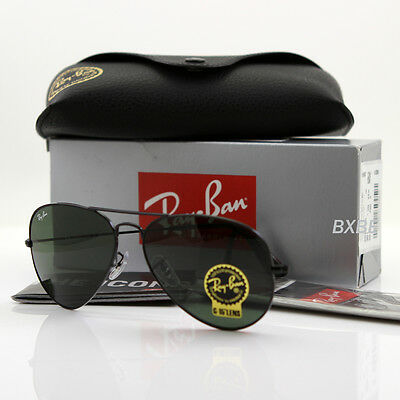 black ray ban aviator black lens
