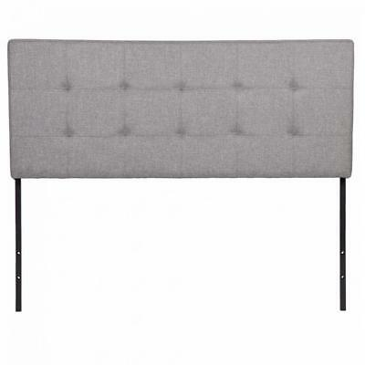 Fabric Headboards Beds (Modern Style Upholstered Tufted Fabric Headboard Queen Size For Bedding)