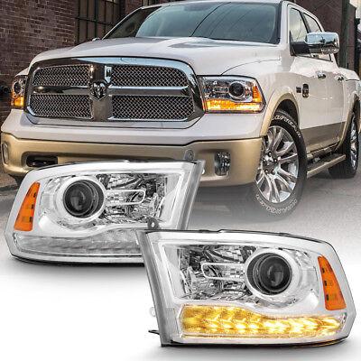 Factory Style 2013-2018 Dodge Ram 1500 2500 3500 Projector Headlights Headlamps
