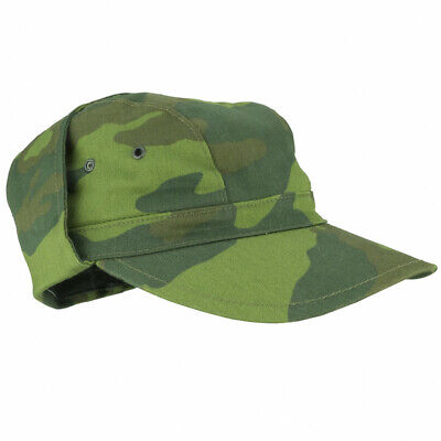 Camouflage Military Style Cap (Military Army Men Cap Russian VSR-93 Soldier Hat Camo Baseball Camouflage Style)