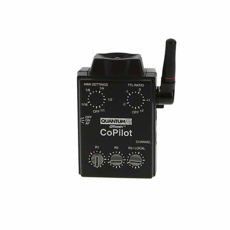 Quantum Instruments Qflash Co-Pilot QF91C Wireless TTL Flash Controller (Canon)
