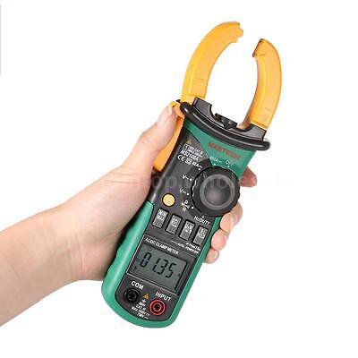 Mastech Ms2108a Digital Clamp Meter Multimeter Ac Dc Volt Amp Tester 4000 Digits