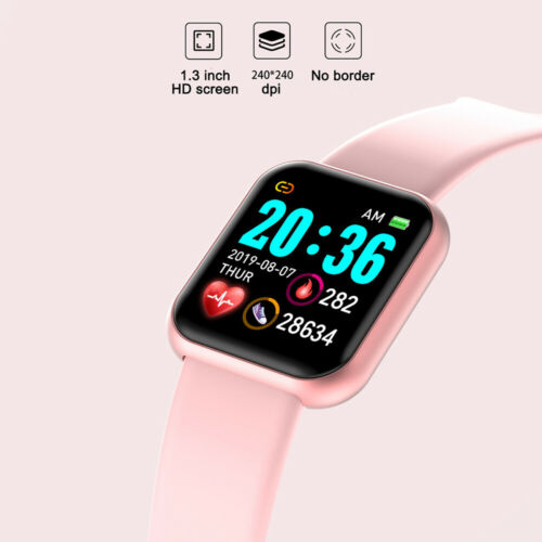 Smart Watch Heart Rate Blood Pressure Fitness Tracker Pedometer for Android iOS
