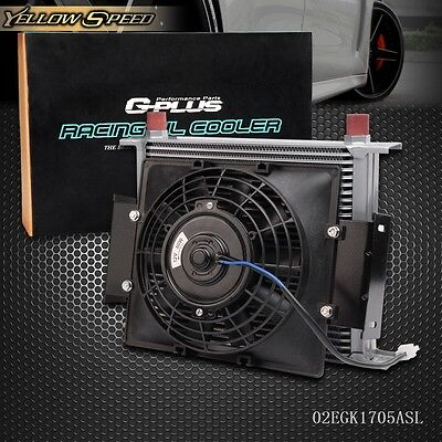 30 Row 10AN Universal Engine Transmission Oil Cooler+7