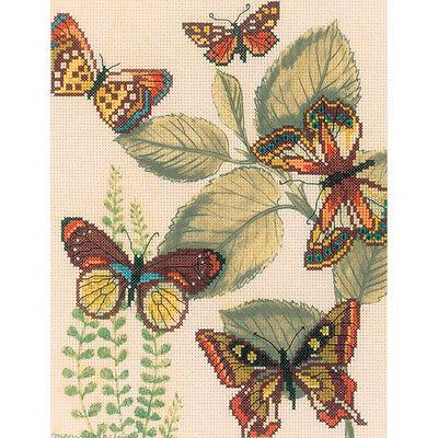 Rto Cross Stitch Kit   Butterfly Kingdom Ii