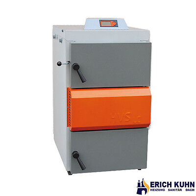 Solarbayer Holzvergaserkessel HVS 25 E Economic mit 25 kW Holz Heizung Kessel