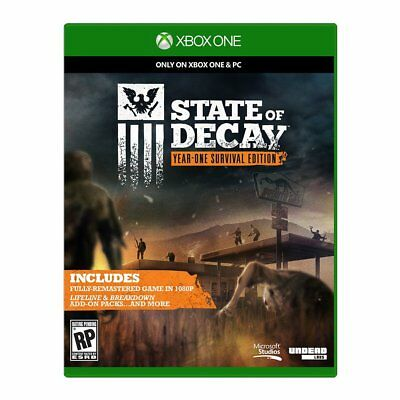 State Of Decay   Year One Survival Edition  Microsoft Xbox One Xb1 Zombies  New