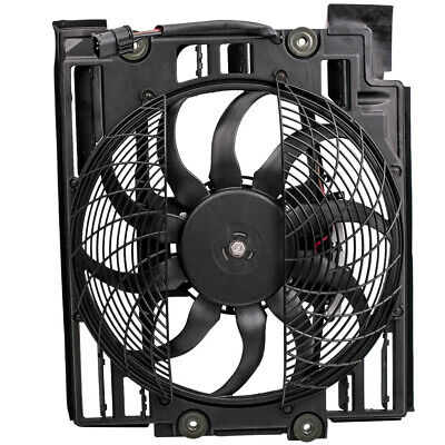 Pop For BMW e39 97-98 Auxiliary Fan Condenser Radiator Electric Cooling Car