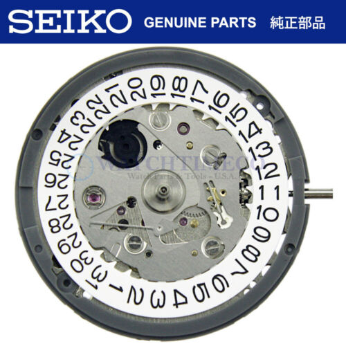 GENUINE Seiko (SII) NH35 / NH35A Automatic Movement - White Date Wheel @ 3H
